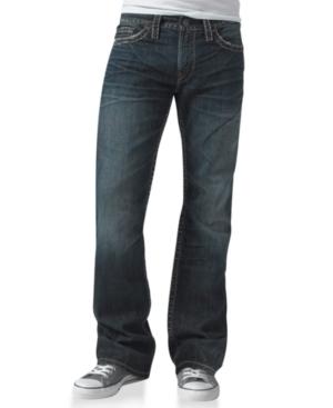 Silver Jeans Co. Men's Nash Heritage Straight Jean