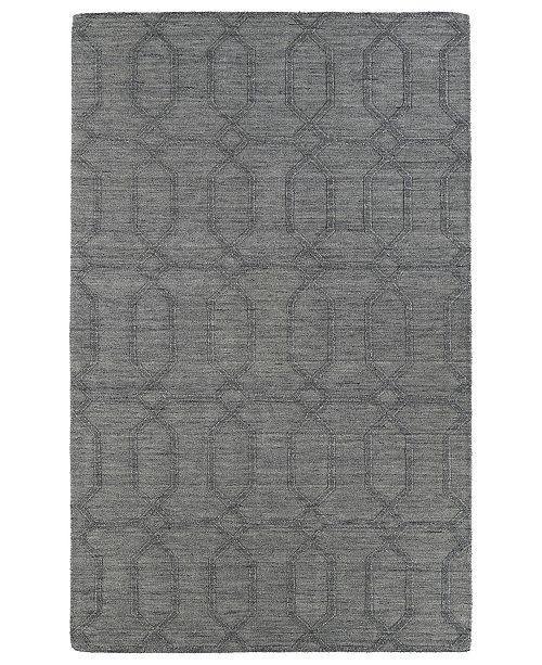 "Kaleen Imprints Modern IPM03-75 Gray 9'6"" x 13'6"" Area Rug"