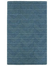 Imprints Modern IPM05-78 Turquoise 5' x 8' Area Rug
