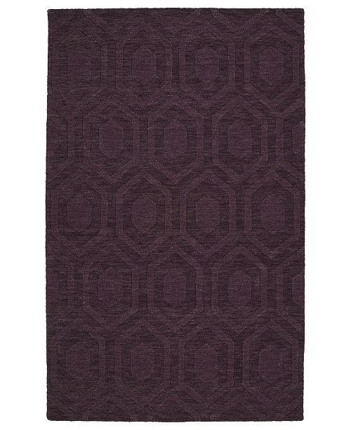 "Kaleen Imprints Modern IPM01-95 Purple 9'6"" x 13'6"" Area Rug"