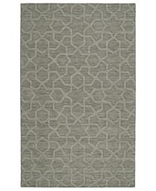 Imprints Modern IPM06-75 Gray 8' x 11' Area Rug