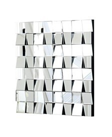 Abbyson Living Savanna Square Wall Mirror