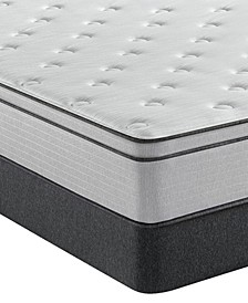 "BR800 12"" Plush Euro Top Mattress Set- Twin"