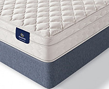 "Serta Sleeptrue Lehman 8"" Firm Euro Top Mattress- Twin"