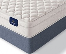 "Serta Sleeptrue Lehman 8"" Firm Euro Top Mattress- California King"