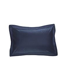 Poplin Tailored Pillow Standard Sham