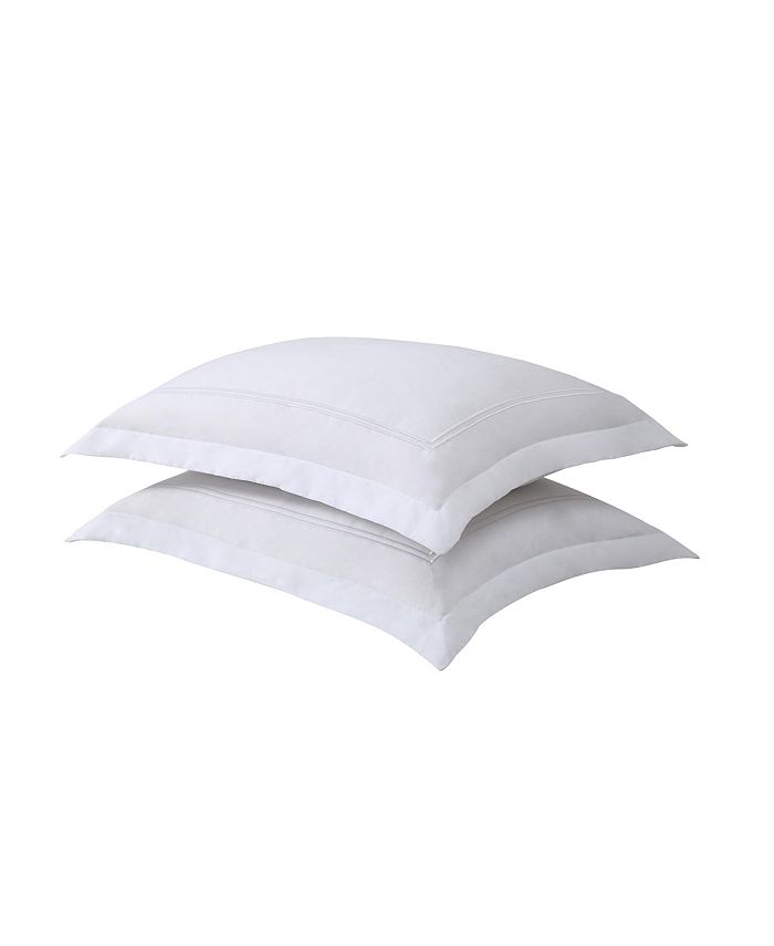 Lux Hotel - Baratta Embroidered Standard 2-Pack Pillow Shams