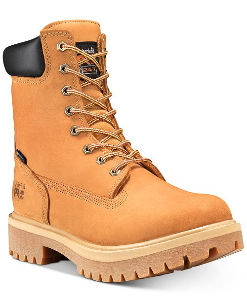 "Timberland Men's 8"" Direct Attach Steel Toe Boots"