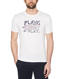 Original Penguin Men's Playas Gonna Play Graphic T-Shirt