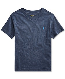Polo Ralph Lauren Toddler Boys Jersey Cotton V-Neck T-Shirt