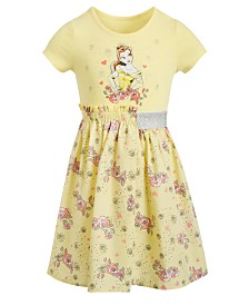 Disney Little Girls Belle Roses Dress