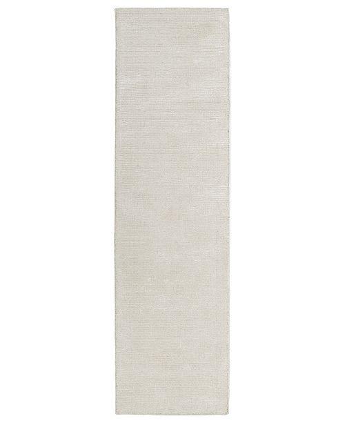 """Kaleen Luminary LUM01-09 Cream 2'3"""" x 8' Runner Rug"""