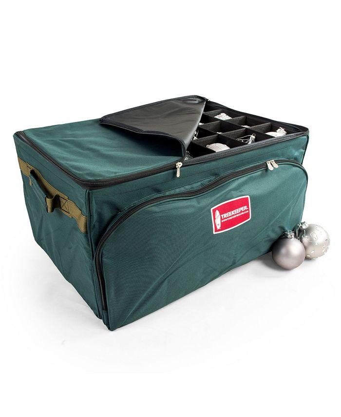 TreeKeeper - Three Tray Ornament Storage Bag w/ Front Pocket