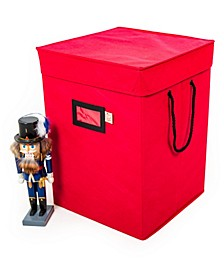 "17"" Nutcracker Collectibles Storage Box"
