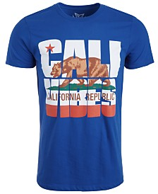 Univibe Men's Cali Vibes Graphic T-Shirt