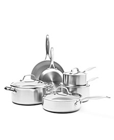 Venice Pro 10-Pc. Ceramic Non-Stick Cookware Set