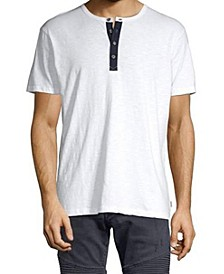 Men's Summer T-shirt with Three button Granded