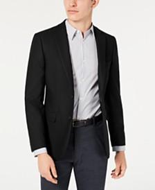 Calvin Klein Men's Slim-Fit Stretch Textured Sport Coat