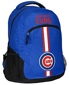 Forever Collectibles Chicago Cubs Action Backpack