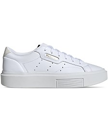 adidas Women's Originals Sleek Super Casual Sneakers from Finish Line