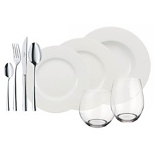 Villeroy & Boch Wonderful World 36 Piece Complete Set, Service for 4