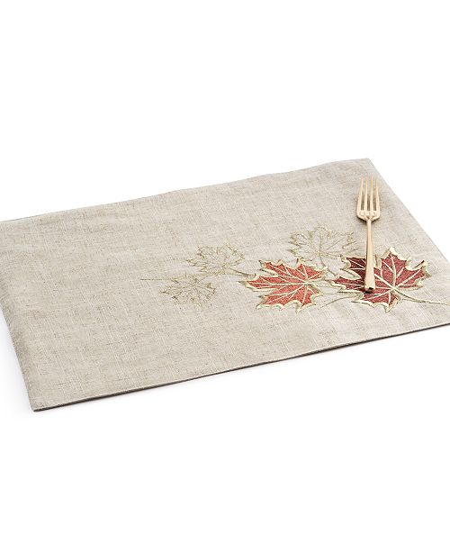 Elrene Metallic Branches Placemat