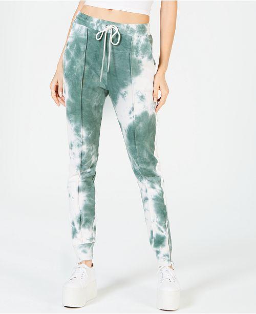 La La Anthony Zip-Detail Jogger Pants