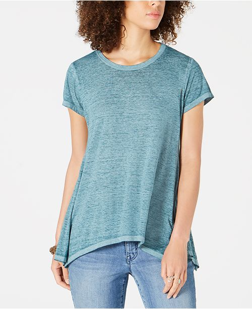 Style & Co Petite Swing Top, Created for Macy's