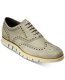 ZeroGrand Wingtip Oxfords