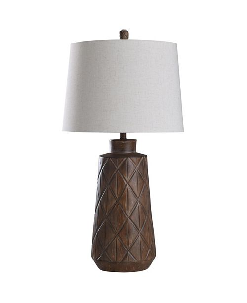 StyleCraft Roanoke 34in Cast Body Table Lamp