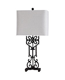 Saugus Bronze 33in Cast Iron Traditional Table Lamp