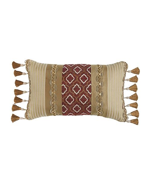 "Croscill Esmeralda 20"" x 12"" Boudoir Pillow"