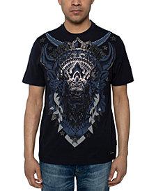 Sean John Men's Beaded Bison T-Shirt