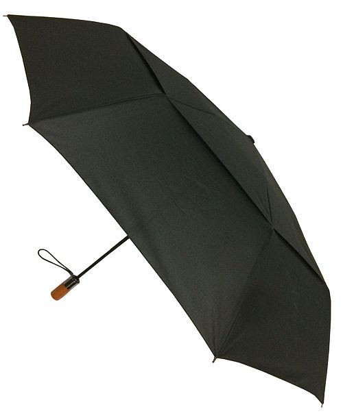 London Fog Wind Guard Auto Open Close Umbrella