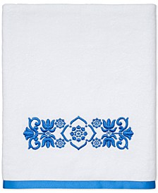 "CLOSEOUT! Scroll Cotton 27"" x 50"" Bath Towel"