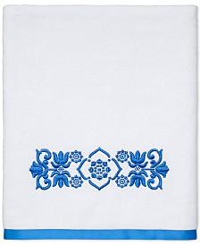 "CLOSEOUT! Avanti Scroll Cotton 27"" x 50"" Bath Towel"