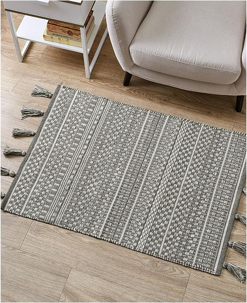 "VCNY Home Tori Flatweave 20"" x 30"" Accent Rug"