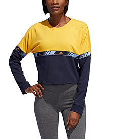 adidas HyperSport Colorblocked Sweatshirt