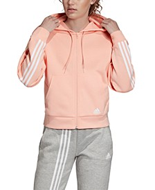 Women's Must Have 3-Stripe Zip Hoodie