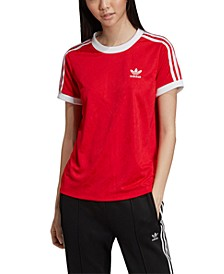 Adicolor Jaquard 3-Stripe T-Shirt