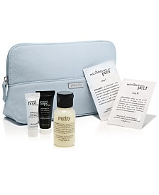 Receive a Free 5pc Mystery Skincare Gift with any $35 philosophy purchase!