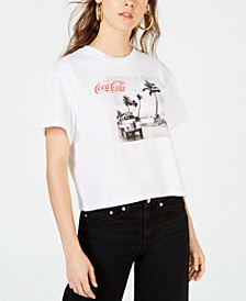 Juniors' Coca-Cola Photo T-Shirt