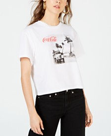 Freeze 24-7 Juniors' Coca-Cola Photo T-Shirt
