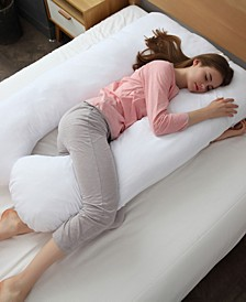 Hypoallergenic Down Alternative Pregnancy U Shaped Body Pillow
