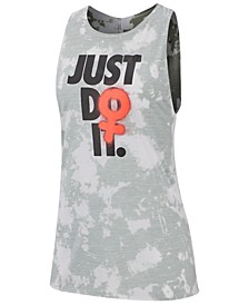 Women's Dri-FIT Printed Just Do It Training Top