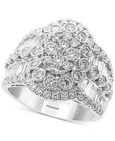 EFFY® Diamond Cluster Statement Ring (2-1/6 ct. t.w.) in 14k White Gold