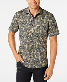 Men's Leaf Lines Shirt, Created for Macy's