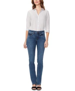 Nydj Jeans MARILYN TUMMY-CONTROL STRAIGHT-LEG JEANS