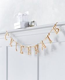 Shine Bright Celebrate Garland, Created for Macy's