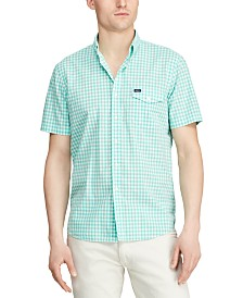 Polo Ralph Lauren Men's Classic-Fit Cotton Gingham Shirt